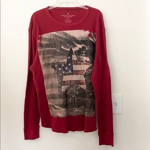 American Eagles Classic Fit Graphic Shirt XL
